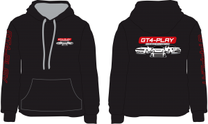 GT4-Play Hoodie- Grey in fill