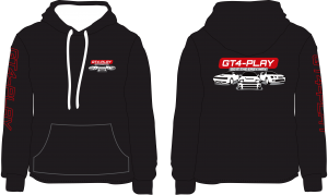GT4-Play Hoodie- White infill
