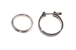 "Deluxe V-Band & Flange Kit- 76mm (3"")"