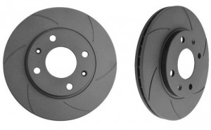 Black Diamond 6 Groove Rear Discs