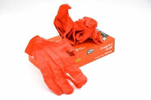 Toyota First Red Nitrile Gloves