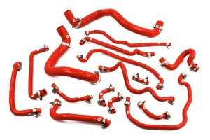 Silicone Coolant Hose Kit- 1ZZ Engine & Conversion 2ZZ Kit