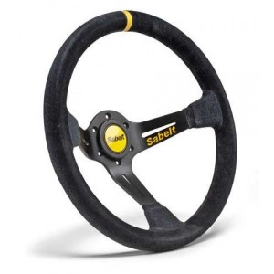 Sabelt Dished Suede Steering wheel