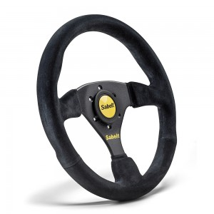 Sabelt 3 Spoke Flat Suede Steering wheel