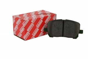 FRONT Brake Pads- Genuine Toyota
