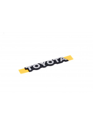 Rear Hatch 'Toyota' Badge- Genuine Toyota