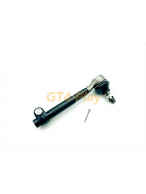 Tie Rod End with castle nut and cotter pin